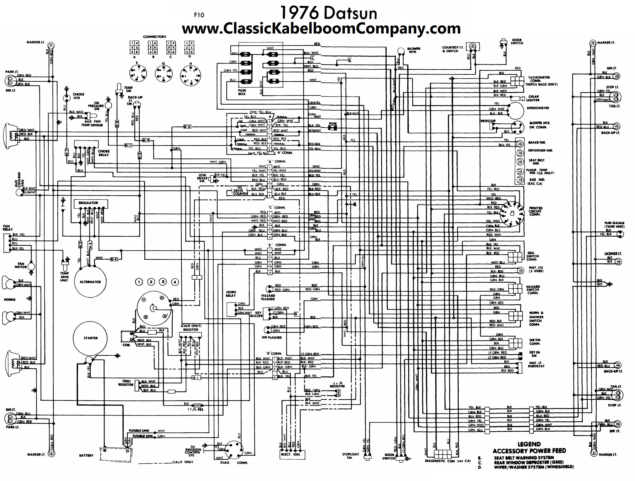 Classic Kabelboom Company - Elektrisch bedrading schema ...
