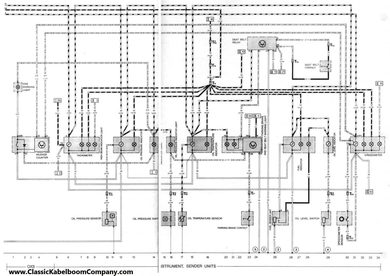 Porsche 356 Wiring Diagram - Wiring Diagrams Schematics