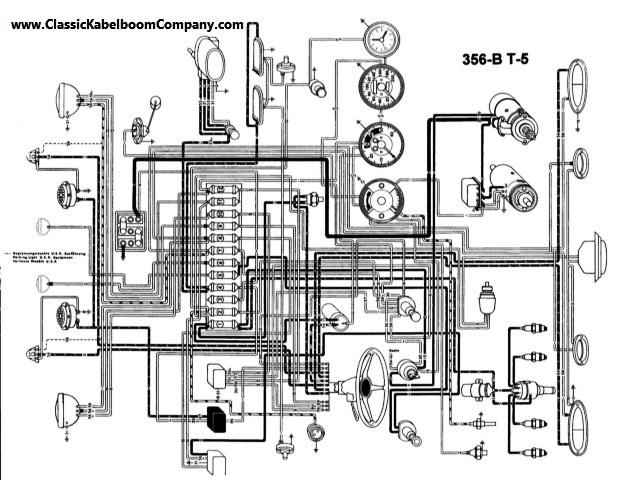 1961 porsche 356 wiring diagram porsche auto wiring diagrams rh nhrt info BMW 2002 Wiring Diagram Porsche 912 Wiring-Diagram