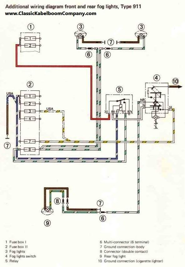 porsche 914 headlight wiring diagram volvo 240 headlight wiring elsavadorla