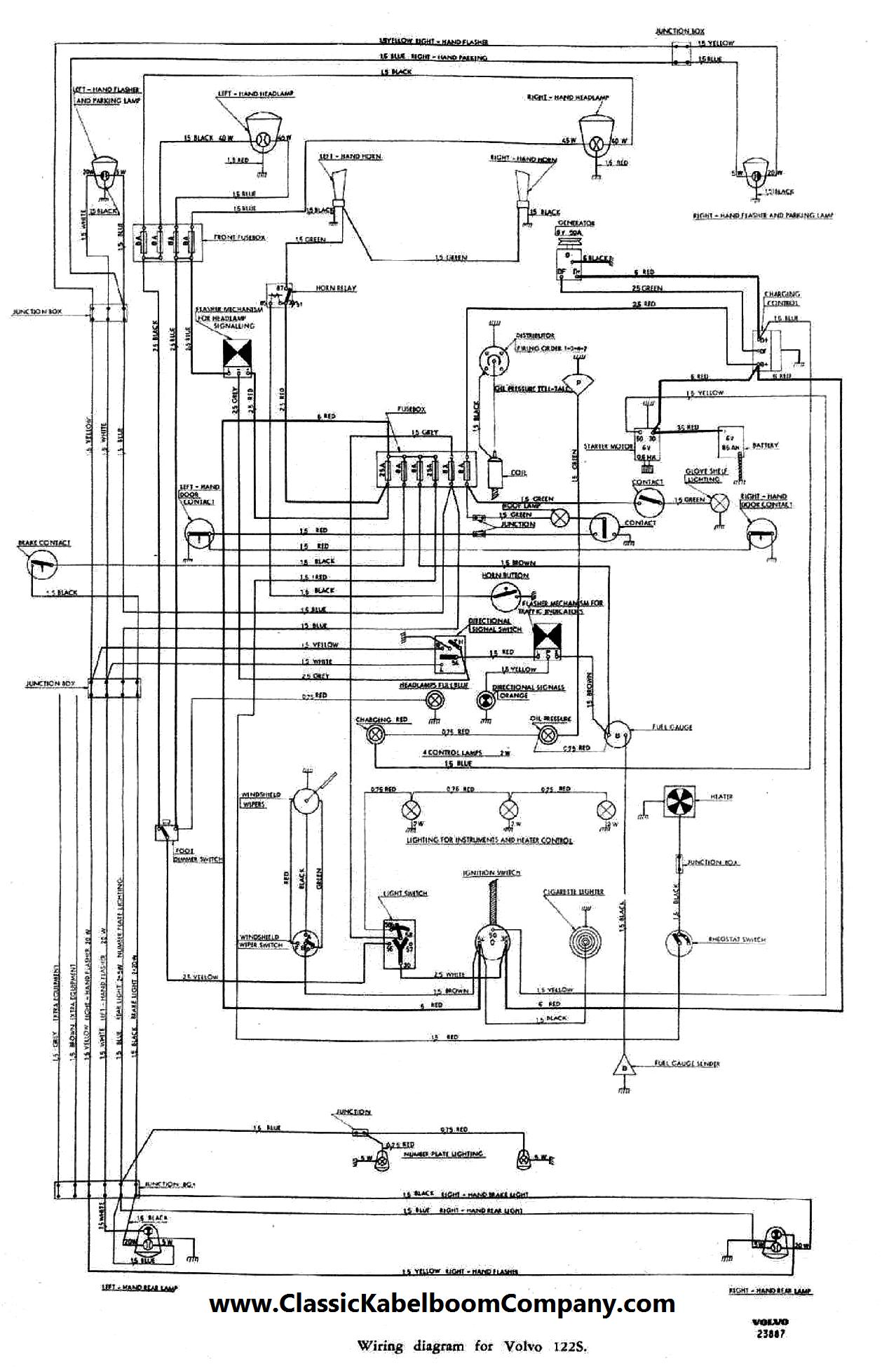 classic kabelboom company elektrisch bedrading schema volvo rh classickabelboomcompany com Volvo V70 Electrical Diagram Audio Wire Diagram 1985 Volvo